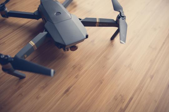 rakenne- ja lämpökuvaukset dronella.